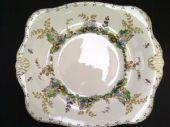 Tuscan china serving / cake plate